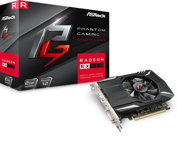 ASRock Radeon RX 550 Phantom Gaming 2GB GDDR5