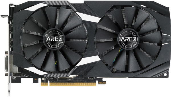 Asus Radeon AREZ-Dual-RX580-O8G 8 GB OC Grafikkarte - 8.192 MB (90YV0AQB-M0NA00)