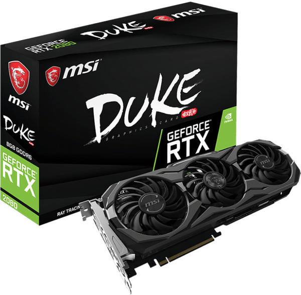 MSI GeForce RTX 2080 Duke OC 8GB GDDR6