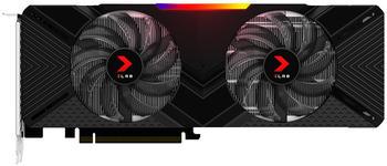 PNY GeForce RTX 2080 XLR8 Gaming OC Twin Fan 8GB GDDR6 Grafikkarte - 3x DisplayPort/HDMI/USB Type-C