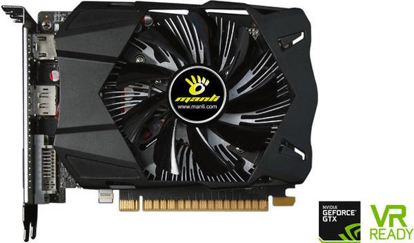 Manli GeForce GTX 1050 2 GB GDDR5 (GP10524B520P891)