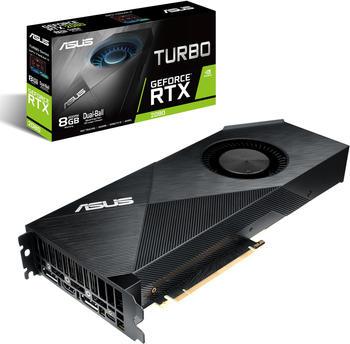 Asus GeForce RTX 2080 Turbo, Grafikkarte, 2x DisplayPort, USB-C