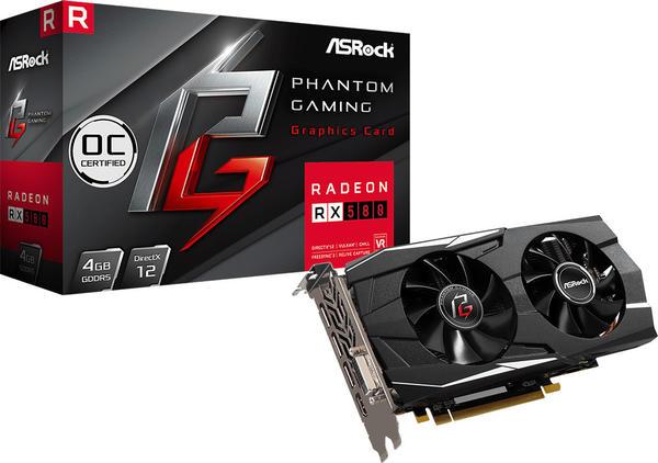 ASRock Radeon RX 580 Phantom Gaming D OC 8GB GDDR5