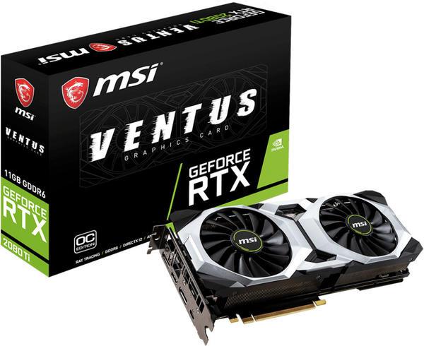 MSI GeForce RTX 2080 Ti VENTUS OC 11GB GDDR6