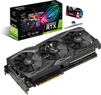 Asus Grafikkarte Nvidia GeForce RTX2070 Strix 8GB GDDR6-RAM HDMI™, DisplayPort, USB-C™