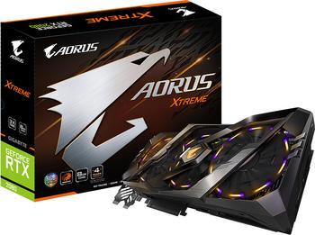 Gigabyte GeForce RTX 2080 AORUS Xtreme 8GB GDDR6 Grafikkarte 3x DisplayPort, 3x HDMI, USB-C