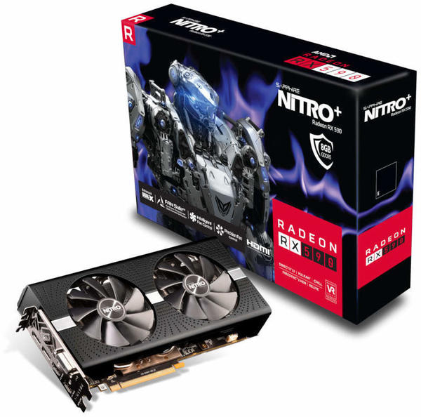Sapphire RX 590 Nitro+ 8192MB,PCI-E,DVI,2xHDMI,2xDP (11289-05-20G)