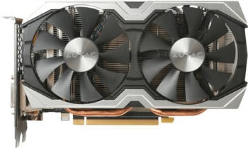 Zotac GeForce GTX 1060 AMP Edition, 6GB GDDR5X Grafikkarte DVI/HDMI/3xDP