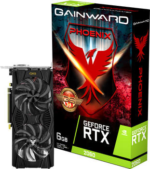 Gainward GeForce RTX 2060 Phoenix 6GB (4313) (NVIDIA, Grafikkarte)