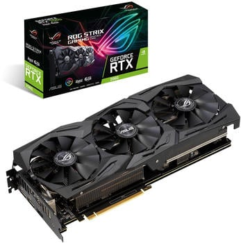 Asus ROG STRIX RTX2060 A6G GAMING, Advanced 6 Gb (90YV0CI1-M0NA00) NVIDIA Grafikkarte - 2x DisplayPort, 2x HDMI