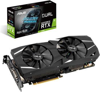 Asus GeForce RTX 2060 Dual Adv. 6GB GDDR6 Grafikkarte - 2x DisplayPort, 2x HDMI, 1x DVI