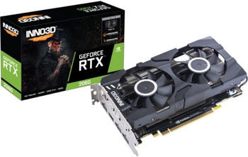 Inno3D GeForce RTX 2060 Twin X2 6144 MB GDDR6 (N20602-06D6-1710VA23)