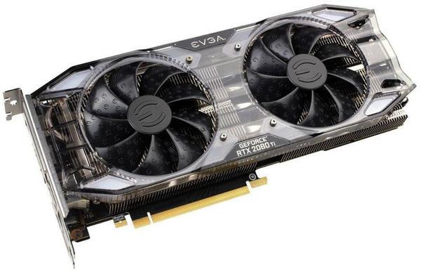 EVGA GeForce RTX 2080 Ti XC Black Edition Gaming 11GB GDDR6