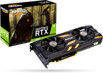 Inno3D GeForce RTX 2080 Twin X2 8192mb,pci-e,hdmi,3xdp,usb-c