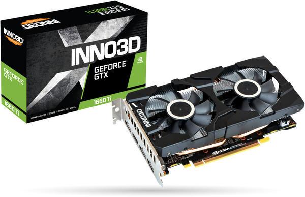 Inno3D GeForce GTX 1660 Ti Twin X2 6GB GDDR6