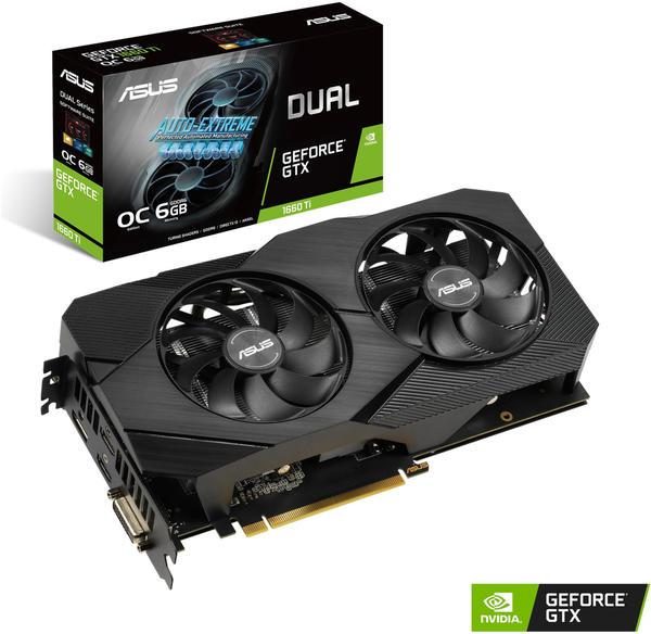 Gigabyte GeForce GTX 1660 OC 6G Grafikkarte