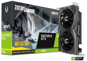 Zotac GAMING GeForce GTX 1660 AMP Edition 6GB GDDR5 1530MHz (ZT-T16600D-10M)