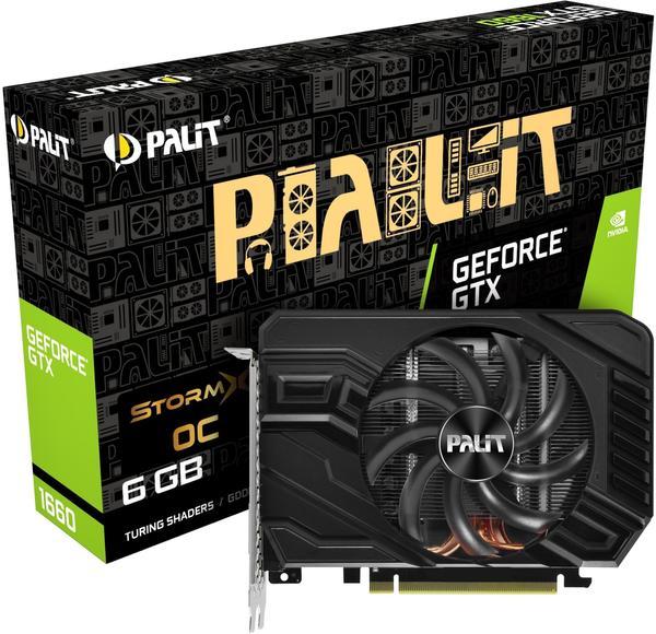 Palit XpertVision GeForce GTX 1660 StormX OC 6GB GDDR5