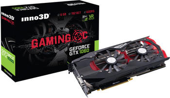 Inno3D Grafikkarte GeForce GTX 1060 Gaming OC