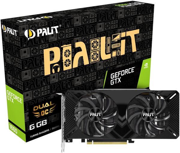 Palit XpertVision GeForce GTX 1660 Dual OC 6GB GDDR5