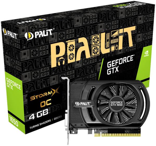Palit XpertVision GeForce GTX 1650 StormX OC 4GB GDDR5