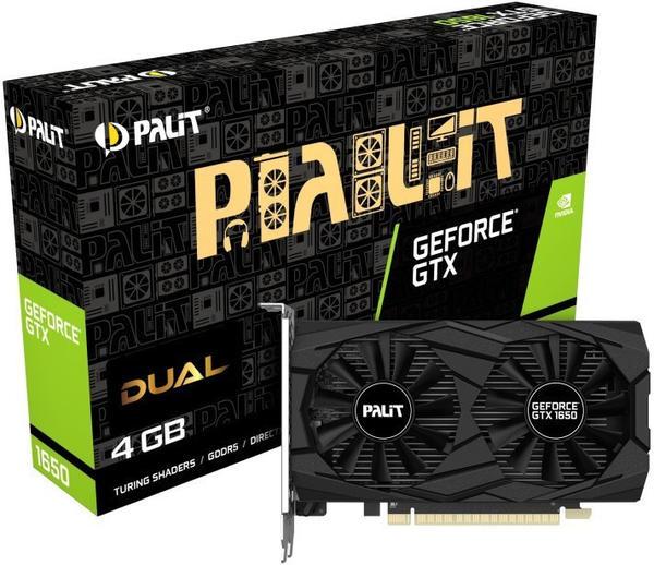Palit XpertVision GeForce GTX 1650 Dual 4GB GDDR5