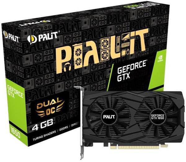 Palit XpertVision GeForce GTX 1650 Dual OC 4GB GDDR5