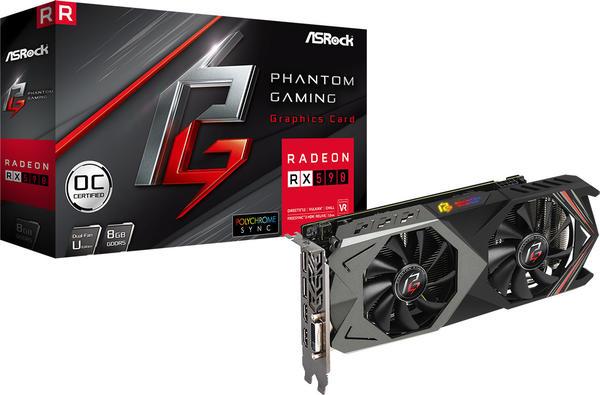 ASRock Radeon RX 590 Phantom Gaming U OC 8GB GDDR5