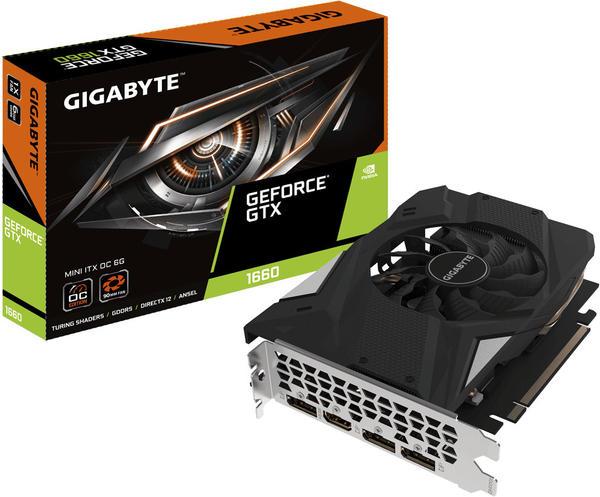 GigaByte GeForce GTX 1660 MINI ITX OC 6GB GDDR5