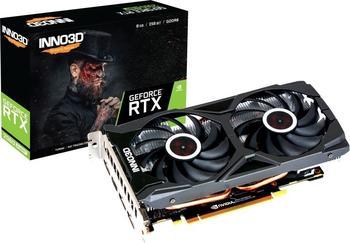 Inno3D GeForce RTX 2060 Super Twin X2 OC 8GB GDDR6 Grafikkarte 3xDP/HDMI
