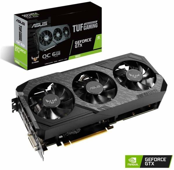 Asus TUF GeForce GTX 1660 X3 OC 6GB GDDR5 1530MHz (90YV0D15-M0NA00)