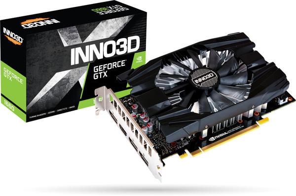 Inno3D GeForce GTX 1660 Compact X1 6GB N16601-06D5-1521VA29 Grafikkarte