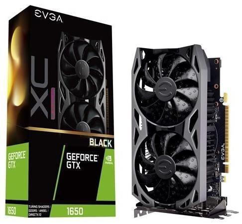 EVGA GeForce GTX 1650 XC Ultra Black Gaming 4GB GDDR5