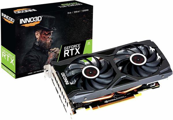 Inno3D GeForce RTX 2060 Super Twin X2 OC 8GB High End)