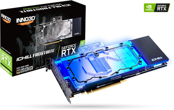 Inno3D GeForce RTX 2080 Super iCHILL FROSTBITE 8GB GDDR6