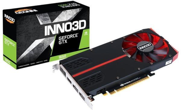 Inno3D GeForce GTX 1650 Single Slot 4GB GDDR5