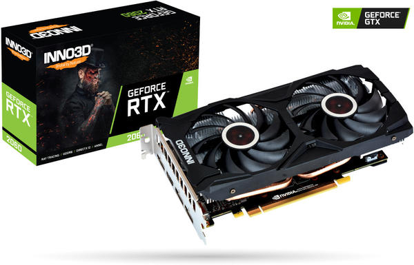 Inno3D GeForce RTX 2060 Gaming OC X2 6GB GDDR6