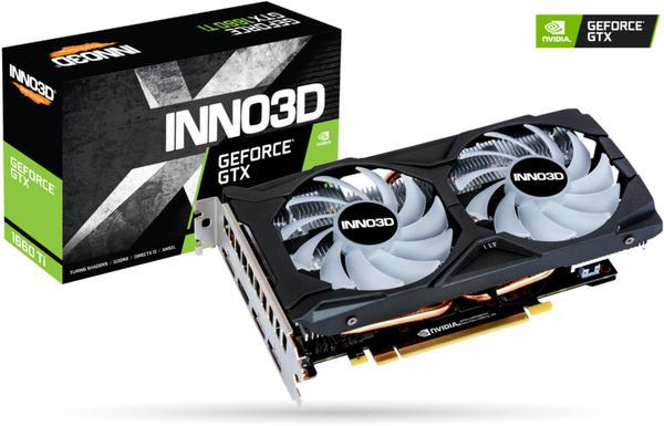 Inno3D GeForce GTX 1660 Ti Gaming OC X2 6GB GDDR6