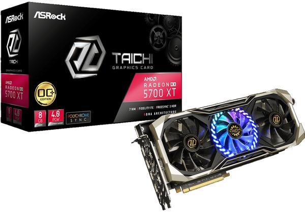 Asrock Radeon RX 5700 XT Taichi X 8G OC+ 8GB GDDR6
