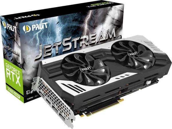 Palit XpertVision GeForce RTX 2060 Super Jetstream LE 8GB GDDR6