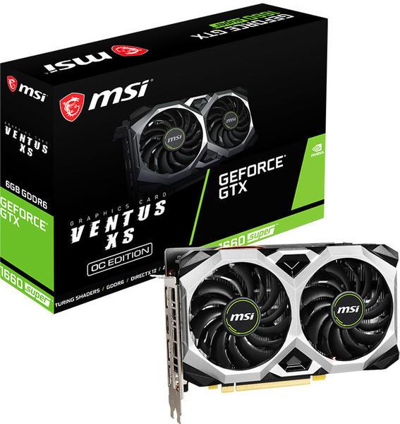 MSI GeForce GTX 1660 Super Ventus XS OC 6GB GDDR6