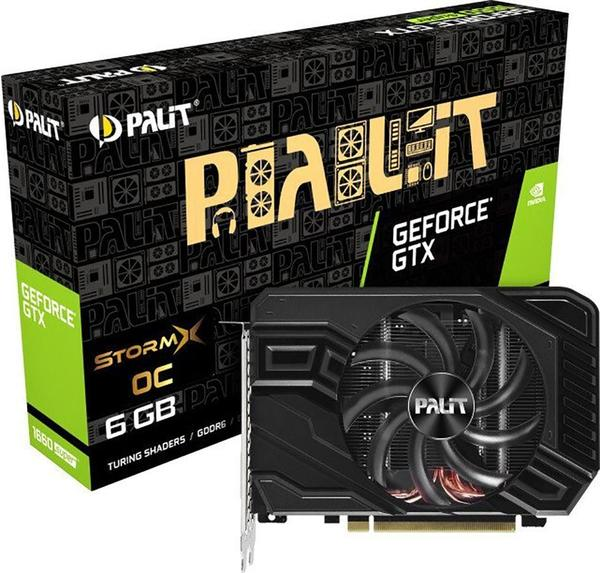 Palit XpertVision GeForce GTX 1660 Super StormX OC 6GB GDDR6