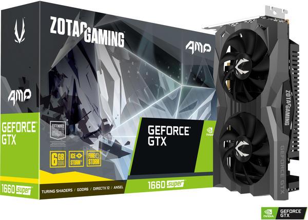 Zotac GeForce GTX 1660 Super AMP 6GB GDDR6