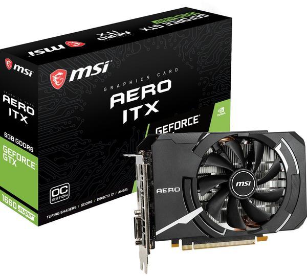 MSI GeForce GTX 1660 Super Aero ITX OC 6GB GDDR6