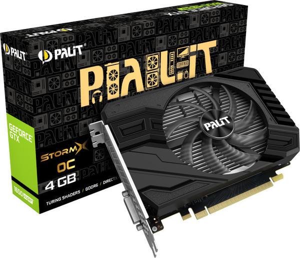 Palit XpertVision GeForce GTX 1650 Super StormX OC 4GB GDDR6