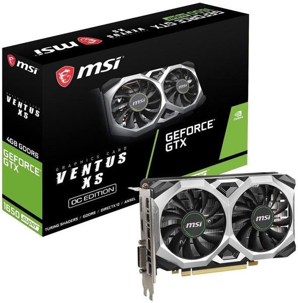 MSI GeForce GTX 1650 Super Ventus XS OC 4GB GDDR6
