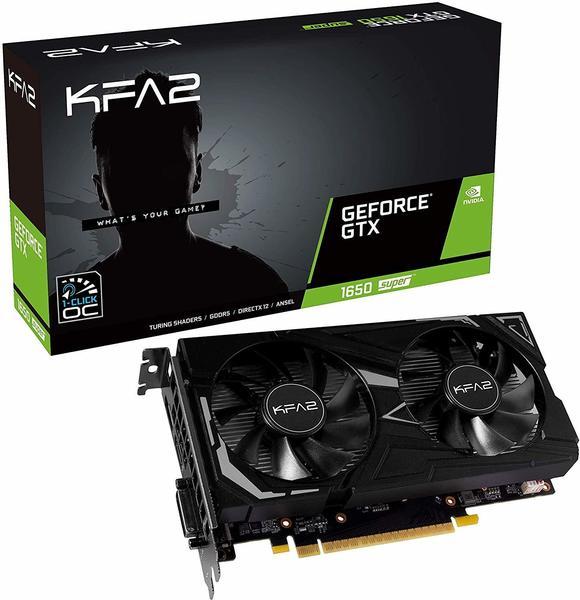 KFA² GeForce GTX 1650 Super EX (1-Click OC) 4GB GDDR6