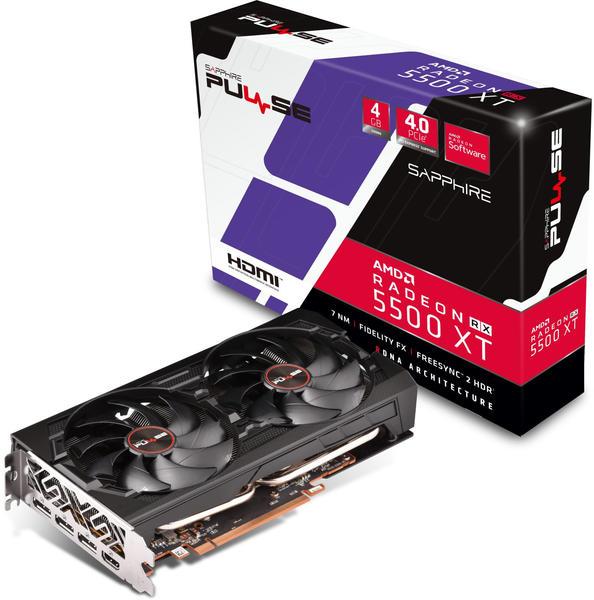 Sapphire Radeon RX 5500 XT PULSE 4GB GDDR6