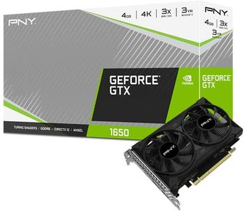 PNY GeForce GTX 1650 Dual Fan 4GB GDDR6 Grafikkarte
