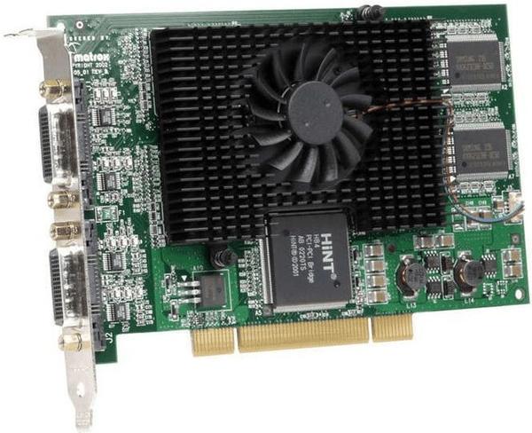 Matrox Millenium MMS G450 Quad Card (4x32MB, PCI)